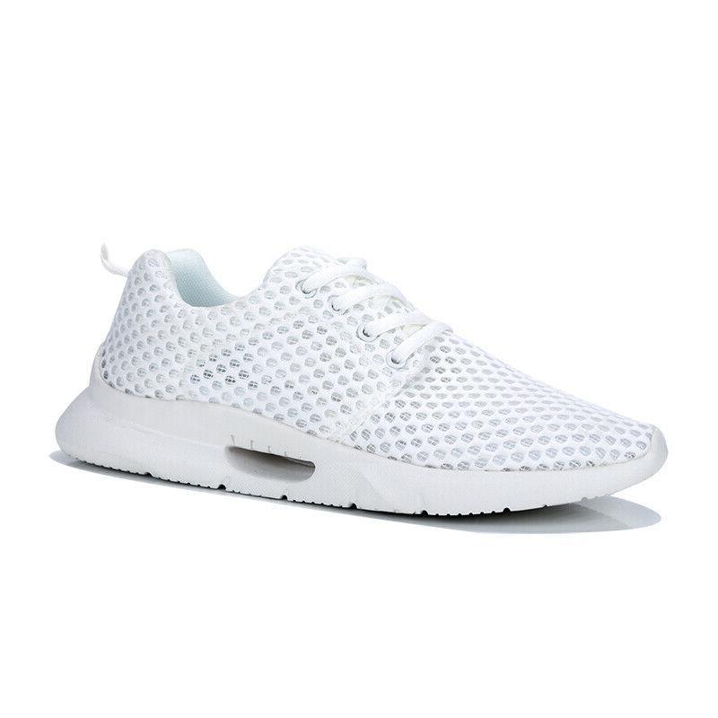 Men's Sneakers Knit Running Tennis Shoe Walking US 14