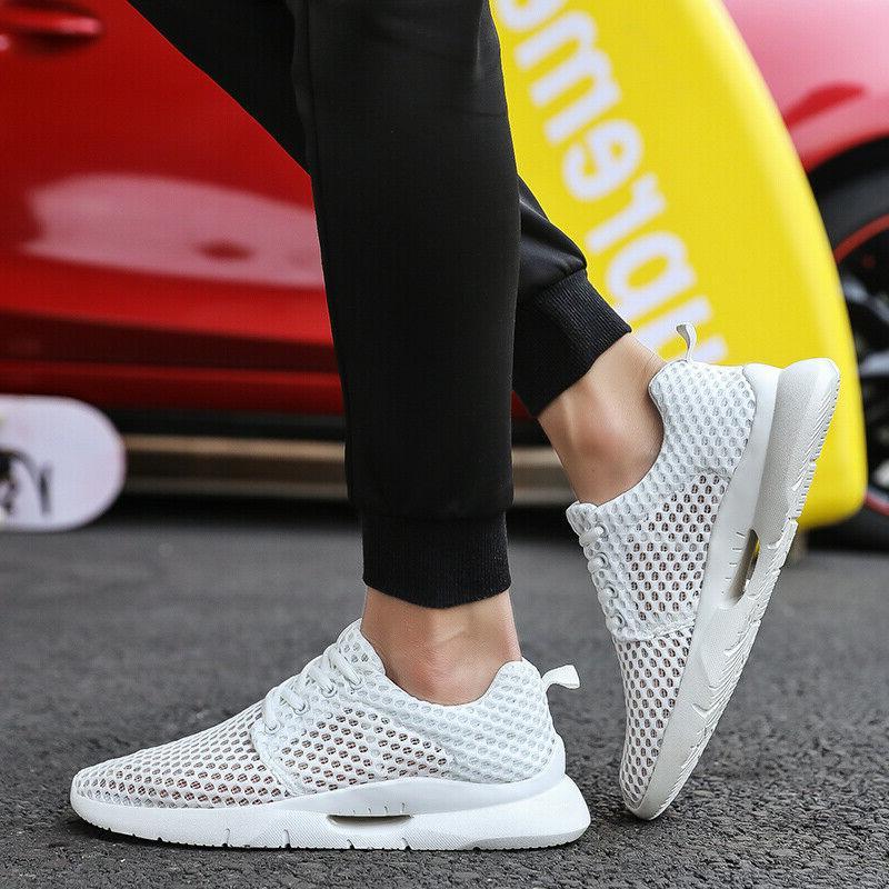 Men's Casual Sneakers Knit Running Shoe Walking 14