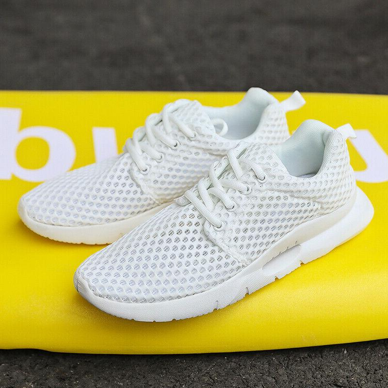 Men's Athletic Sneakers Knit Running 14