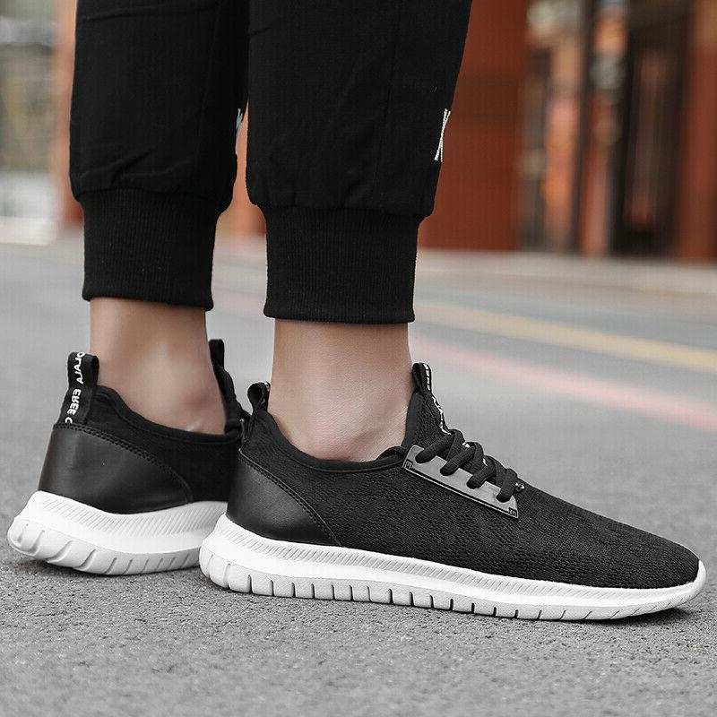 Men's Casual Athletic Sneakers Outdoor Running Tennis Shoes Jogging