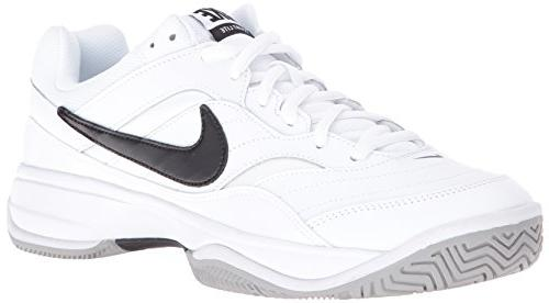 men s court lite tennis shoe white