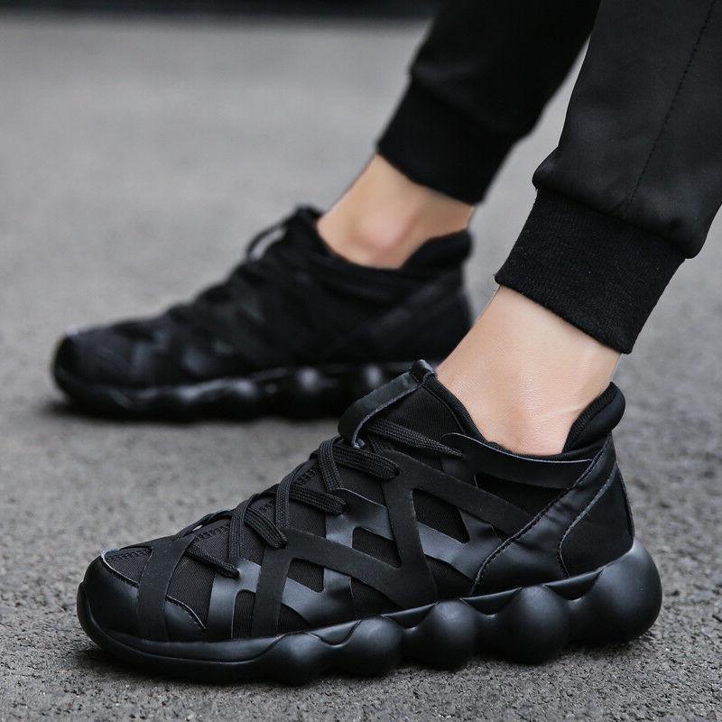 men s lightweight breathable running tennis sneakers