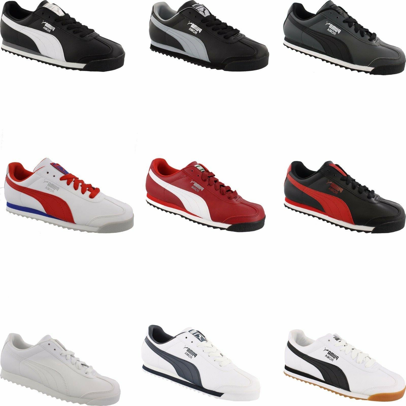 men s roma basic classic retro shoes