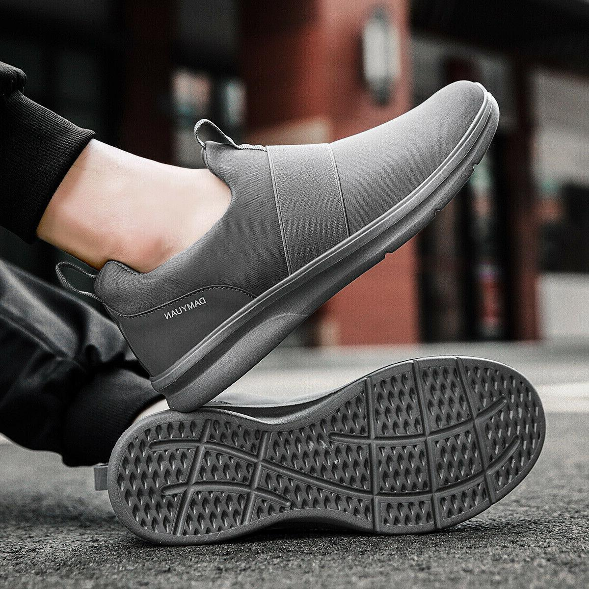 Men's Running Shoes Breathable Casual Tennis Sneakers