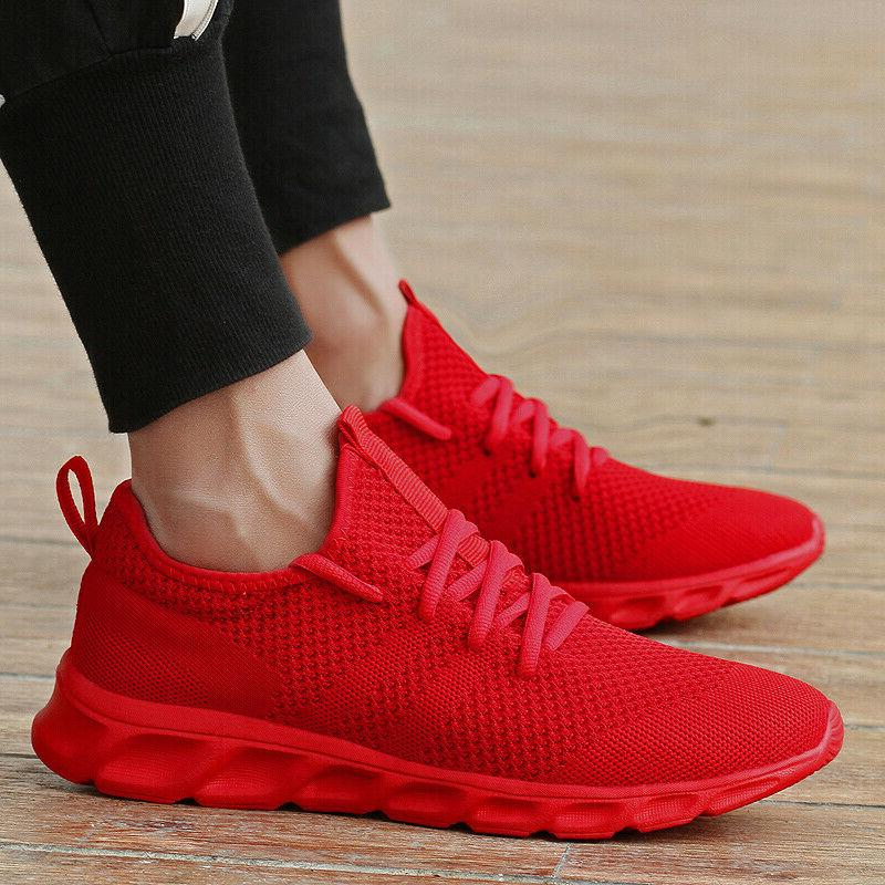 Men's Athletic Casual Running Tennis Walking Shoes Gym