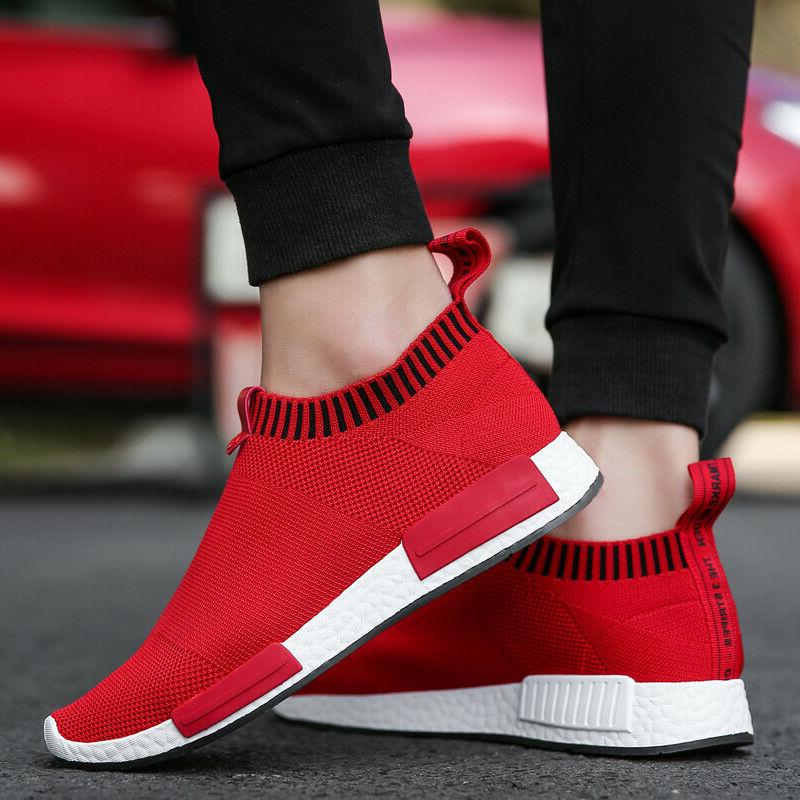 Men's Shoes Breathable Casual Walking Tennis Sneakers