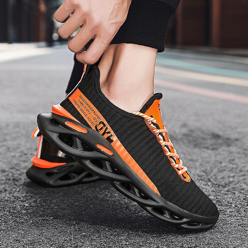 men s sneakers breathable outdoor running shoes