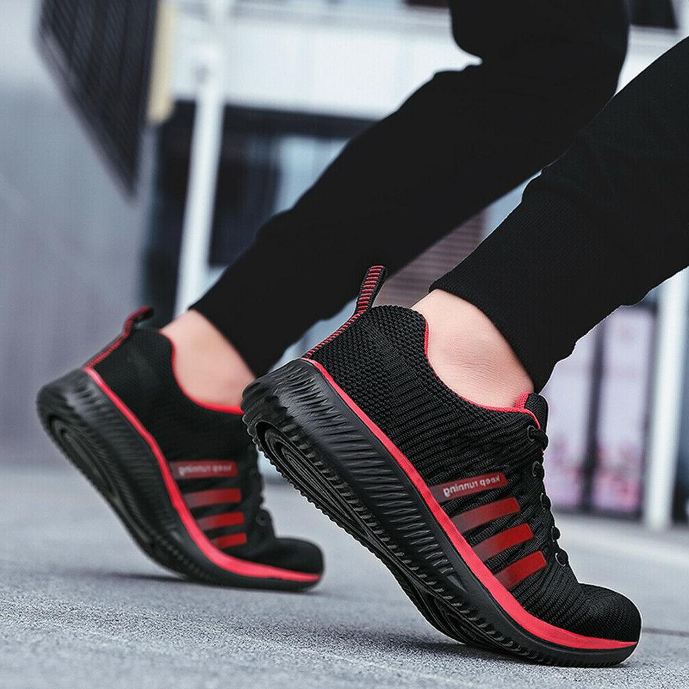 Men's Sneakers Breathable Tennis Athletic Walking Shoes