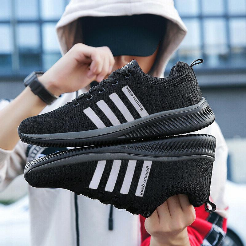 Men's Sneakers Running Tennis Athletic Walking Shoes US