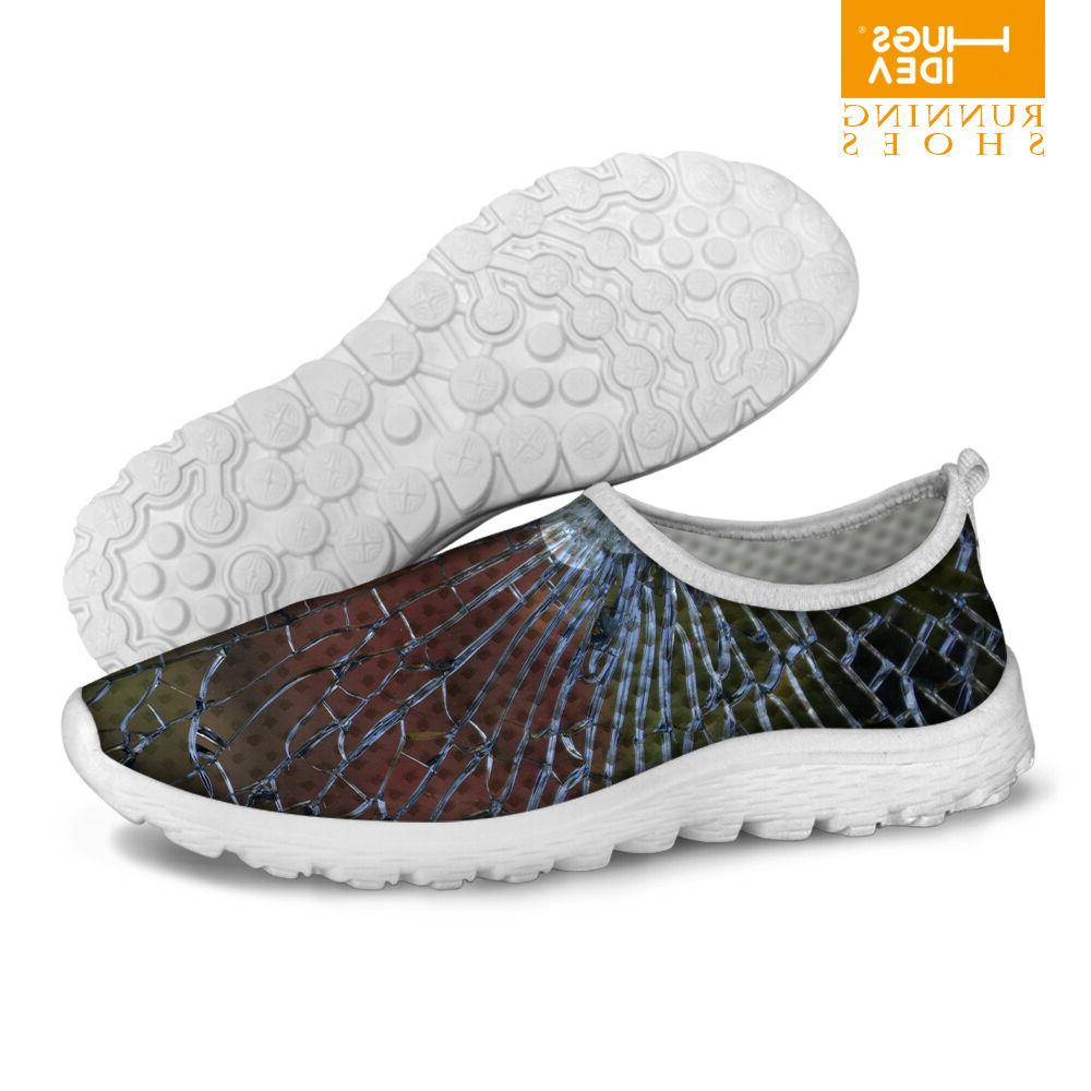 Men's Summer Slip On Casual Mesh Tennis Running Exercise Sne