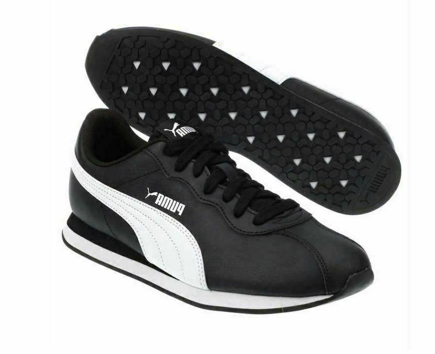 PUMA Men's Leather Athletic Shoe