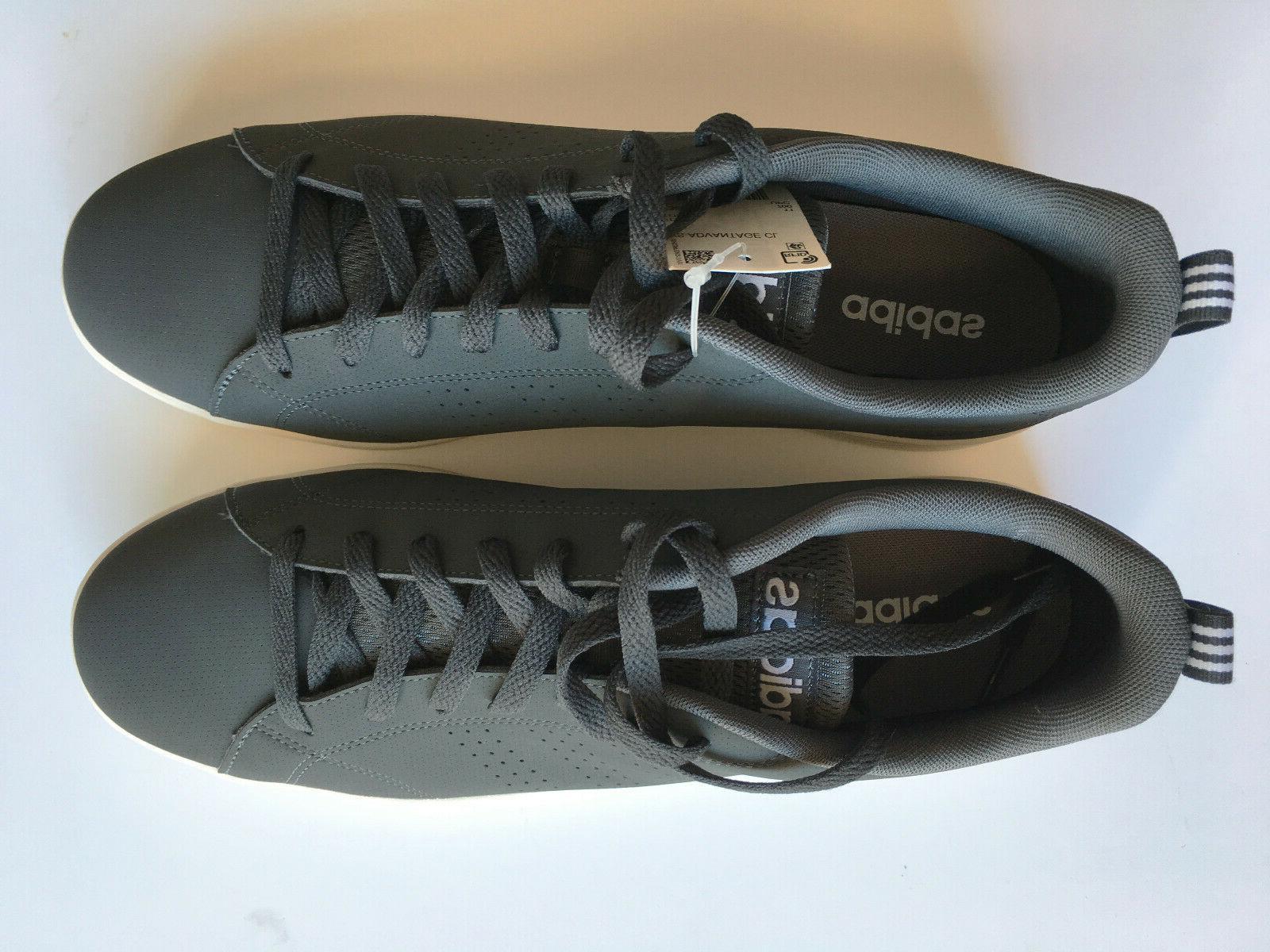 Adidas Men's VS Advantage CL Grey/White