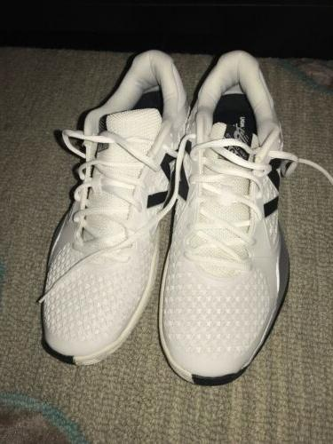 mens 996 white tennis shoes sneakers size