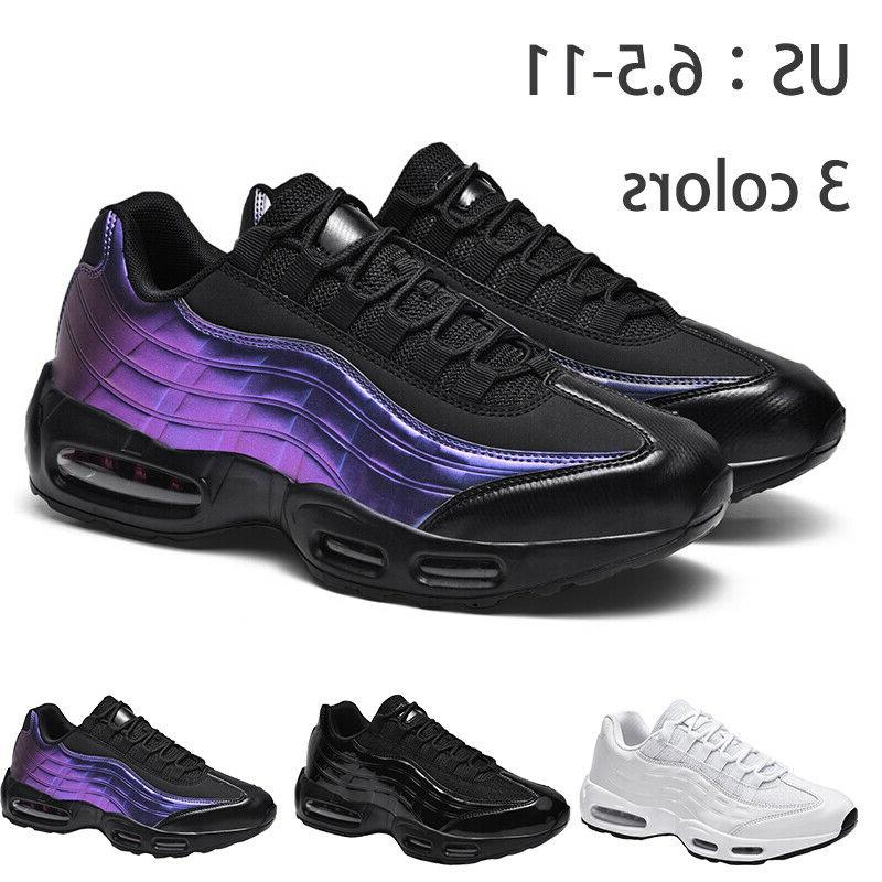 mens air cushion sneakers breathable sports tennis