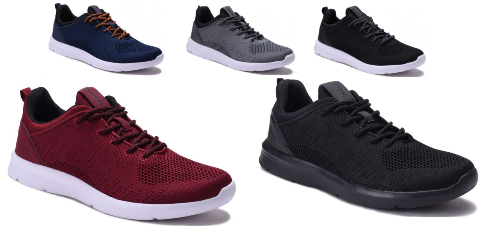 mens athletic running tennis shoes light weight