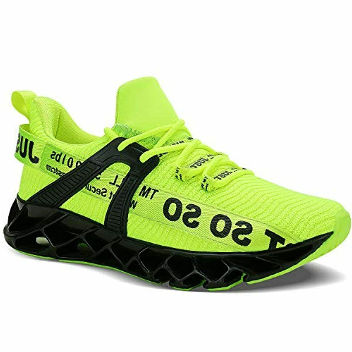 UMYOGO Mens Blade Running Tennis Fashion Sneakers