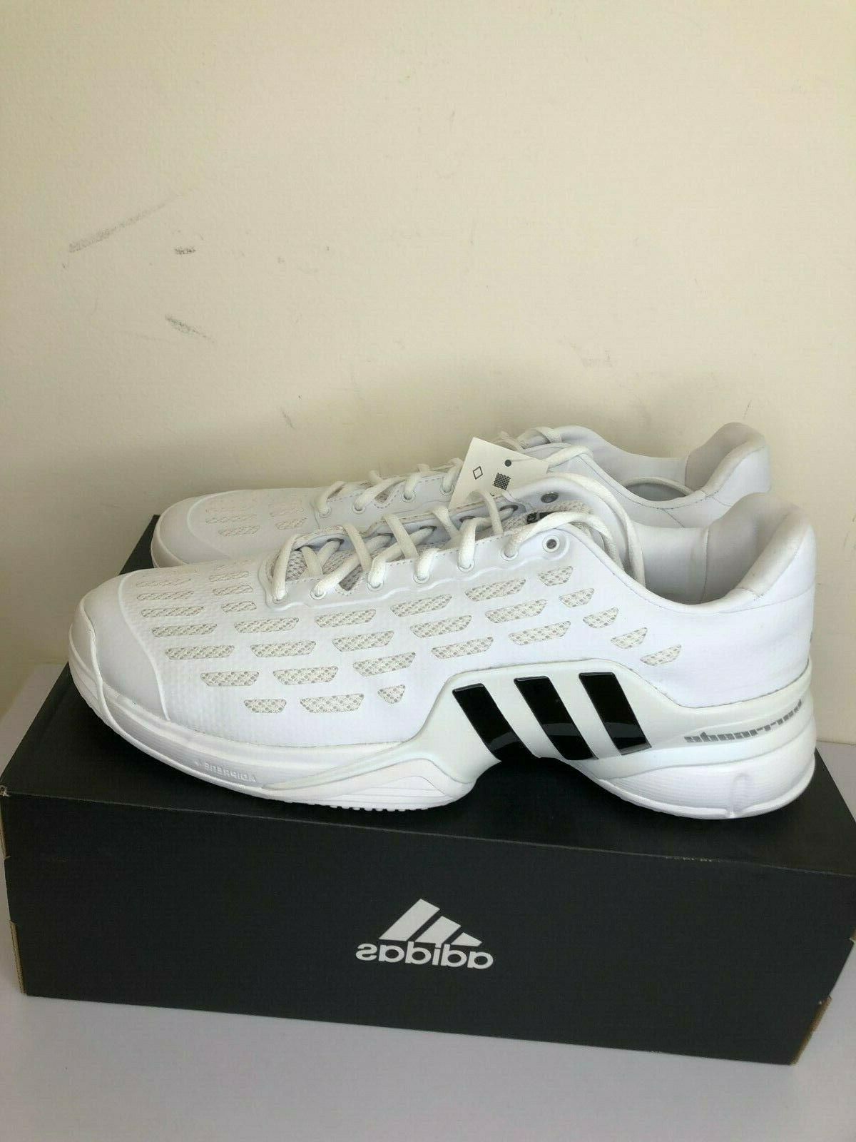 Mens Barricade 2016 Grass Shoes Size 12.5 White
