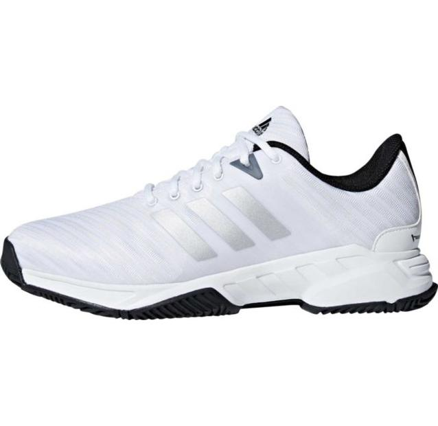 mens barricade court 3 wide white sport