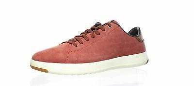mens grandpro tennis burgundy tennis shoes size
