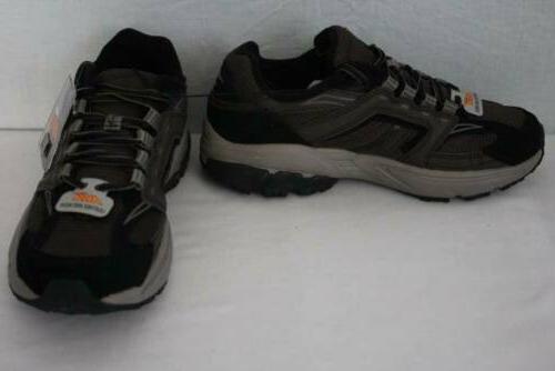 Mens Shoes Brown Foam Athletic