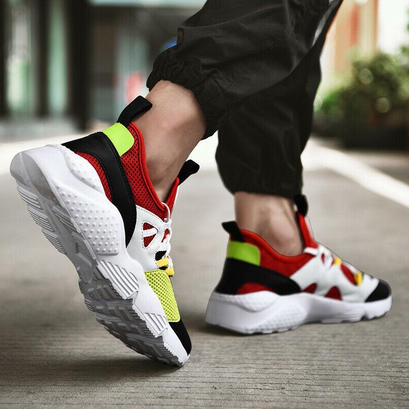 Mens Sneakers Athletic Running Gym