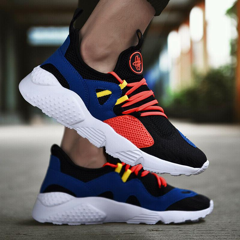 Mens Sneakers Ultralight Running Gym Sports