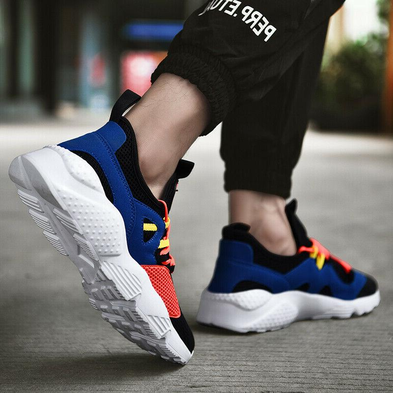Mens Sneakers Athletic Running Gym Sports