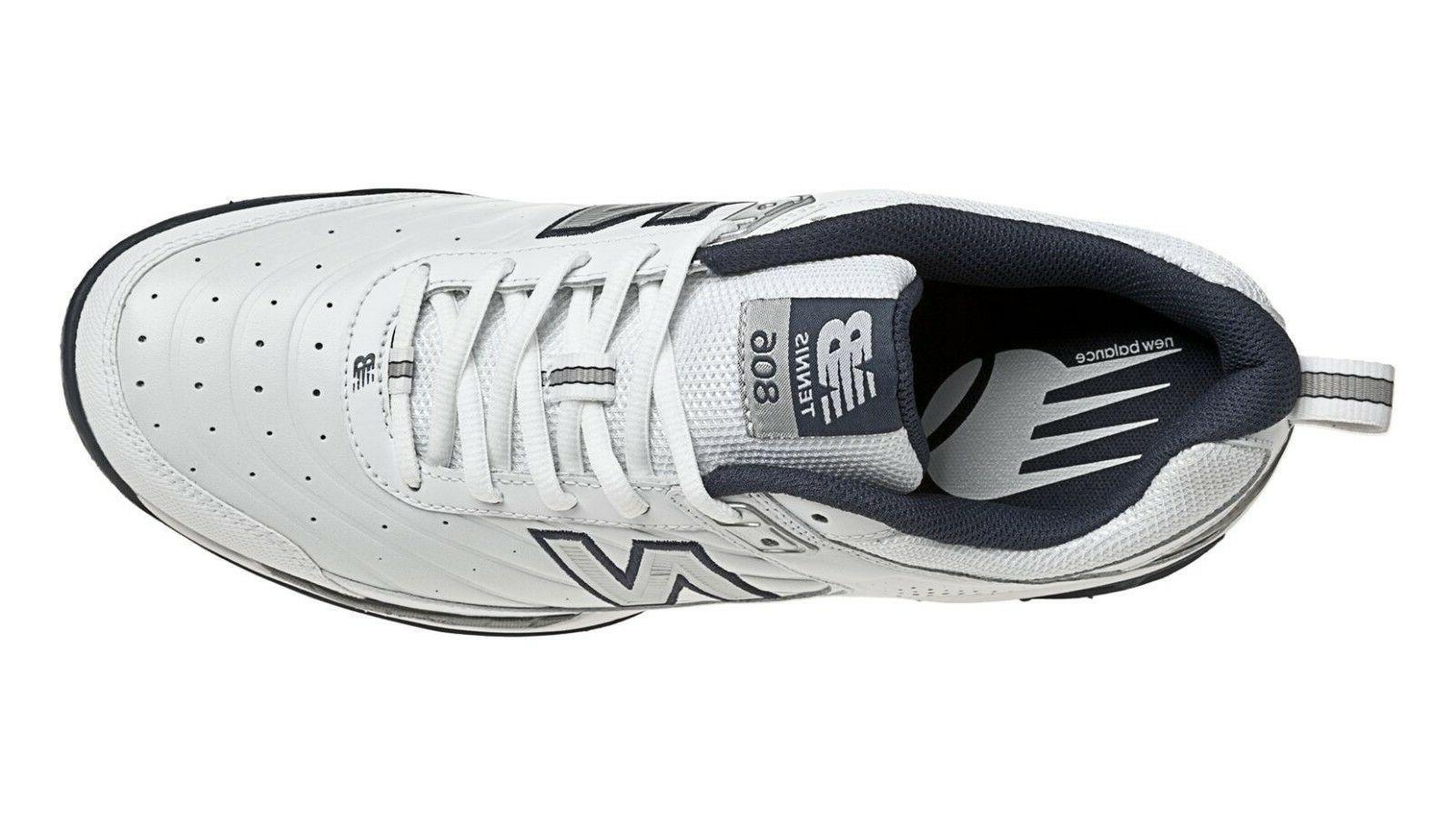 New Balance Men's White Core Tennis Sneakers