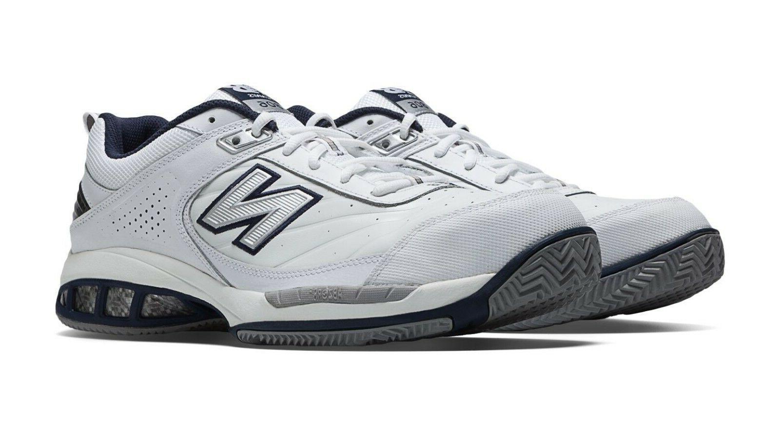 New Balance MC806W Men's White Core Tennis Shoes