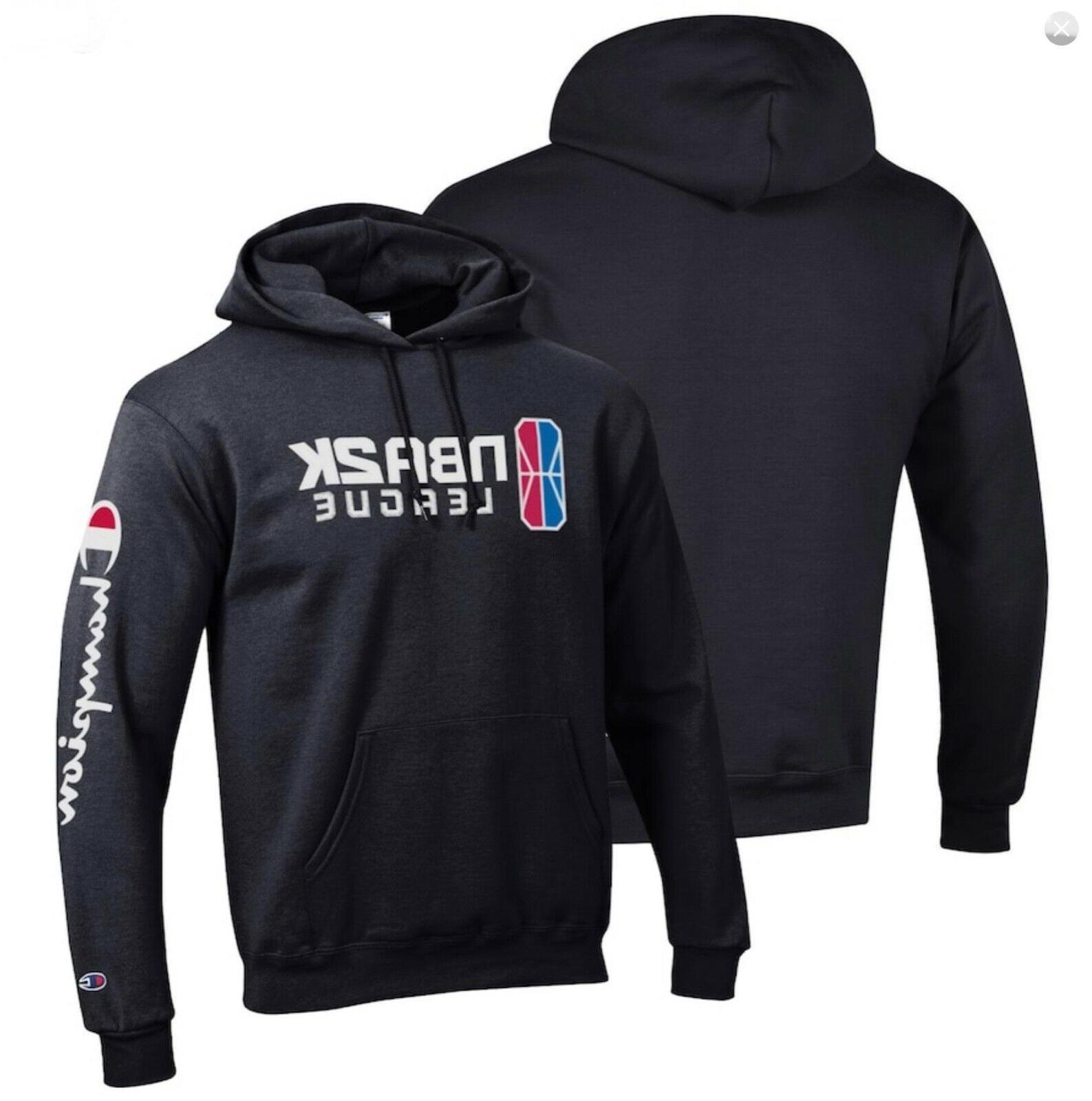 nba 2k league powerblend pullover hoodie medium