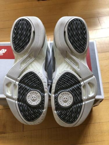 NEW New 1005 Tennis Shoes Size White Gray Trim