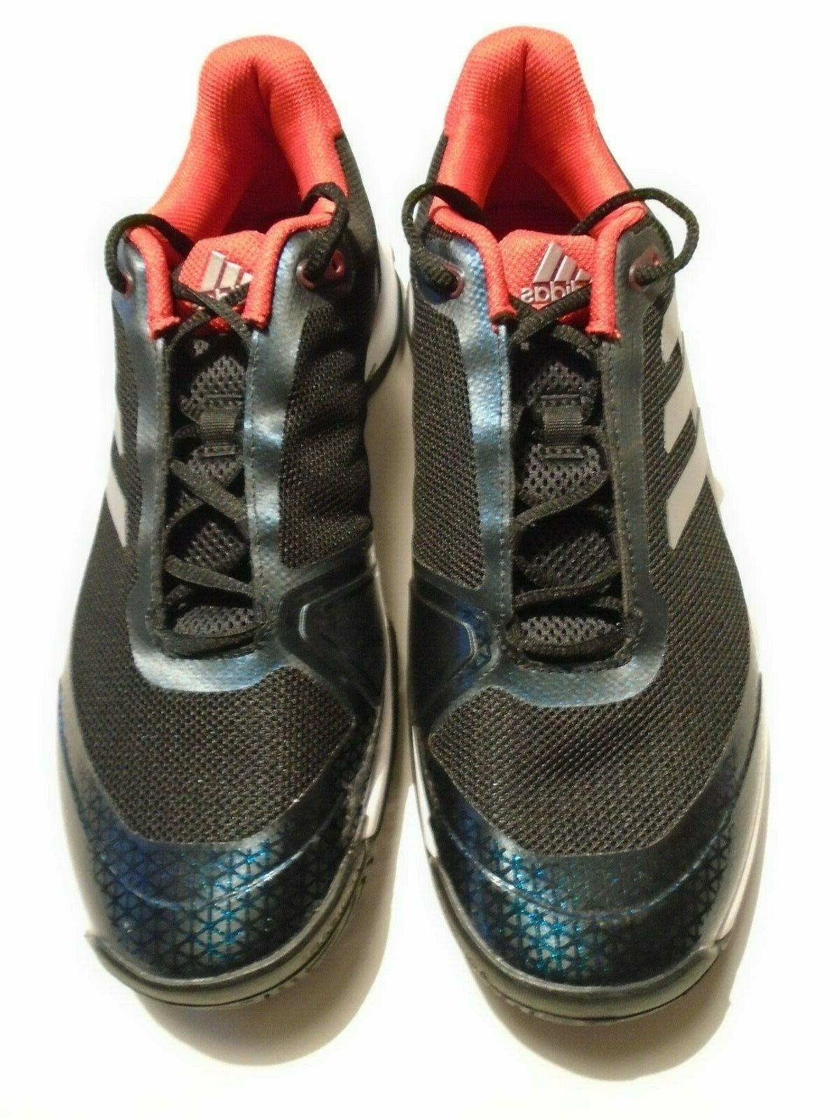New Adidas Mens Shoes Black Red