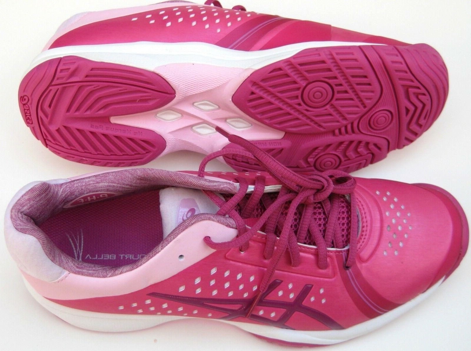New Asics Gel-Court Bella Women's Tennis Shoes E655Y Size 7.