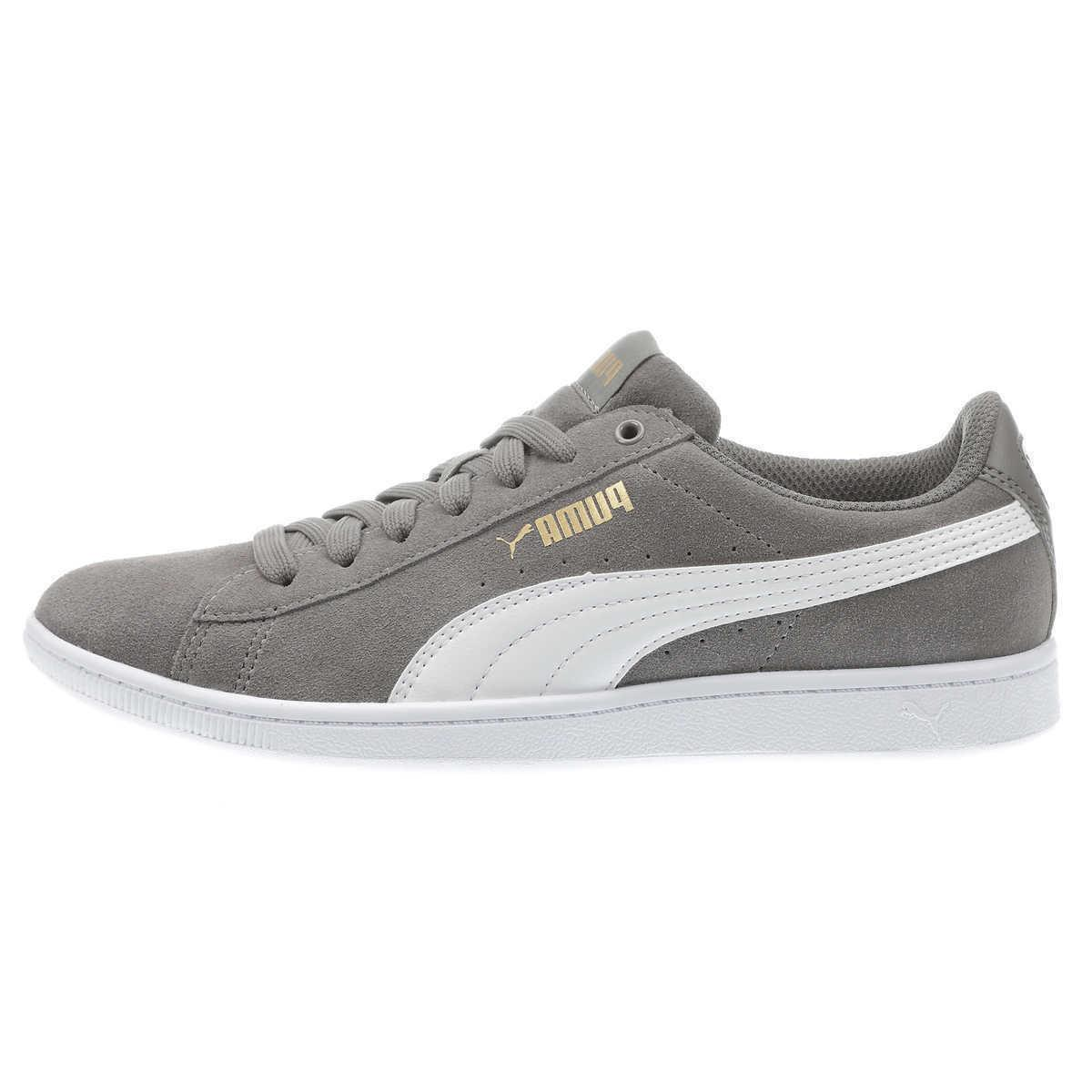 *NEW* PUMA Ladies' Vikky Suede Shoes Softfoam Low-Top