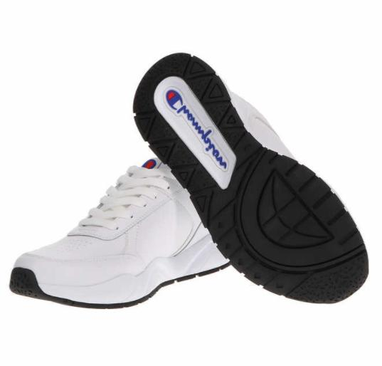 NEW Champion Classic Leather + Gym Sneakers SZ