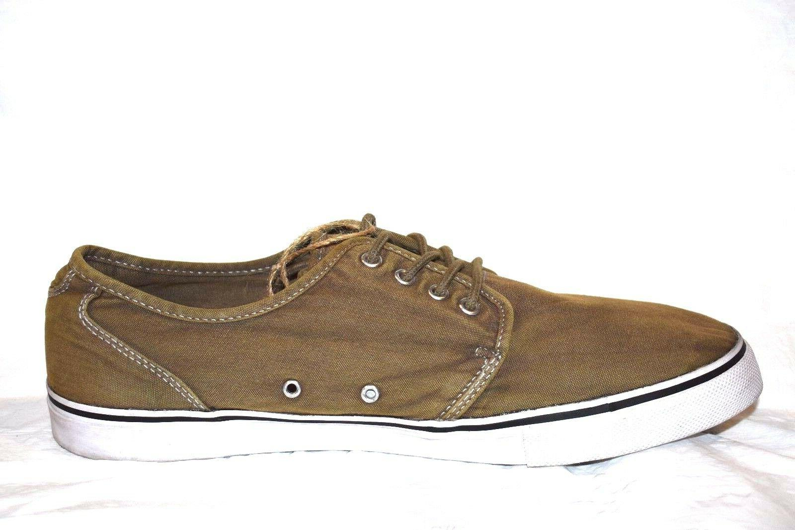 NEW Lace Up Fender Tennis Canvas by The Size 14