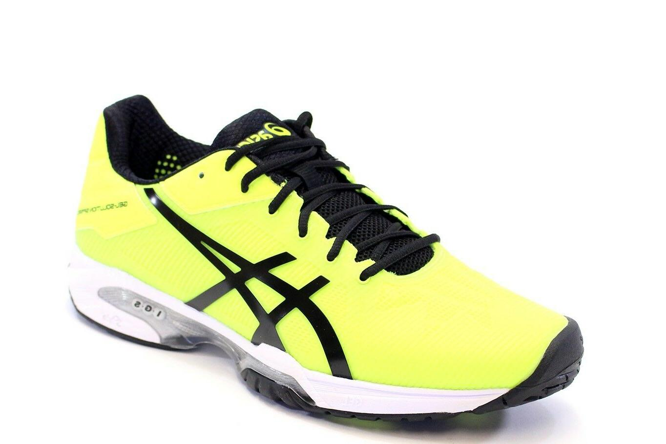 NEW MEN'S ASICS SOLUTION SPEED 3  TENNIS SHOES. SIZES