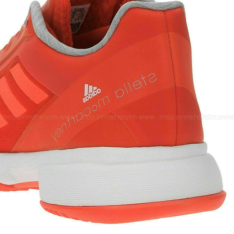NEW Orange Adidas Stella McCartney Barricade Boost Shoes