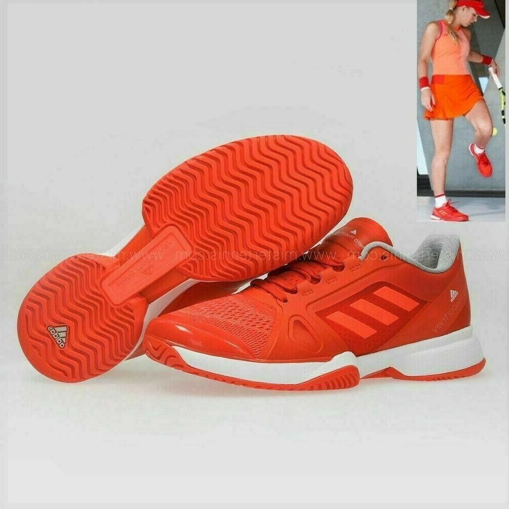 new orange adidas stella mccartney women barricade