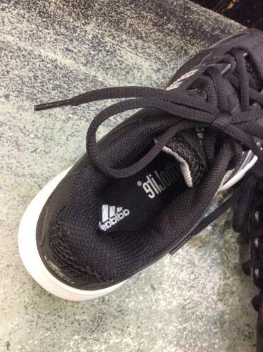 New Box Adidas Barricade 2 Shoes Black 3.5 Youth