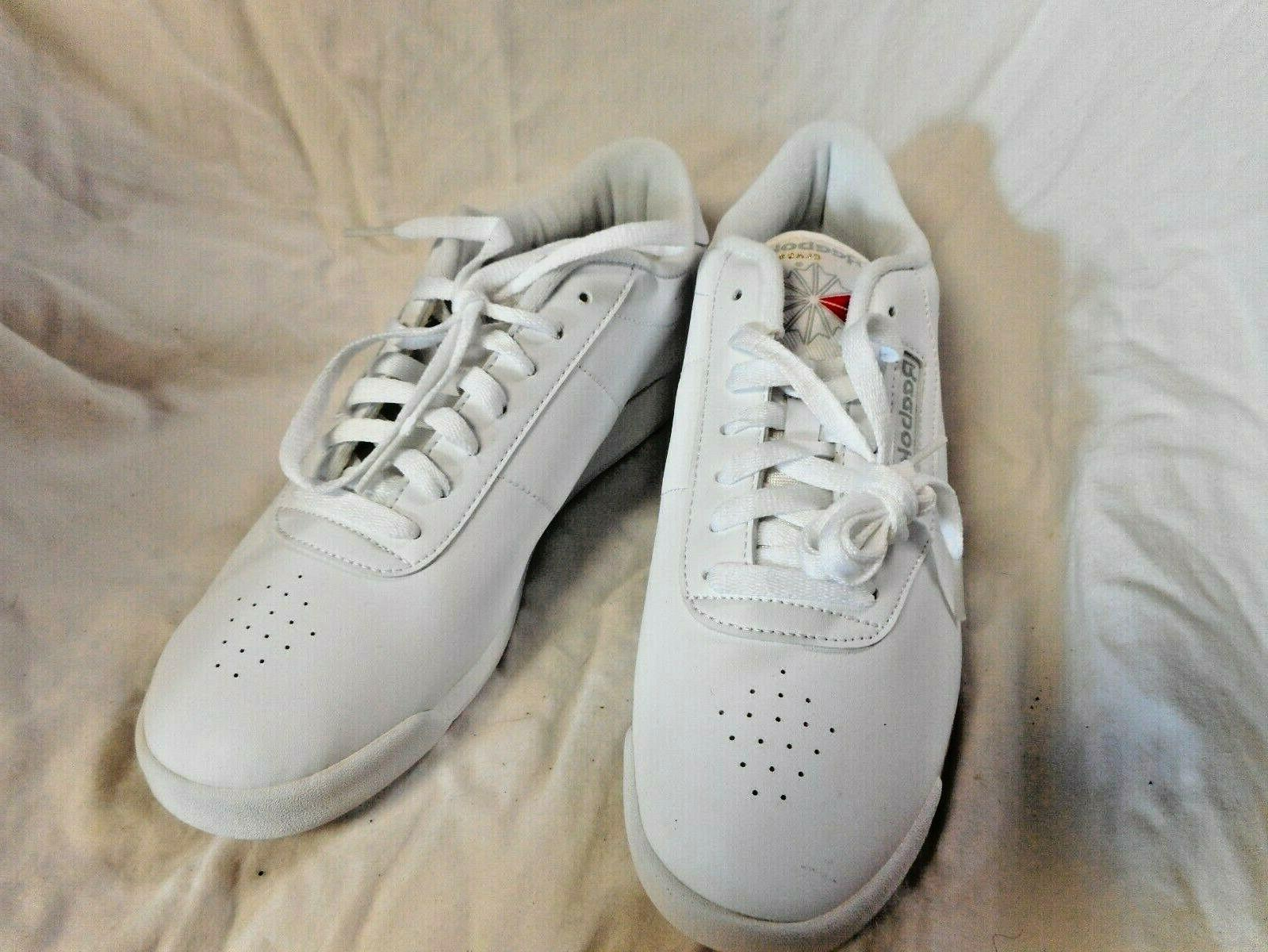 White Tennis Shoes 9.5