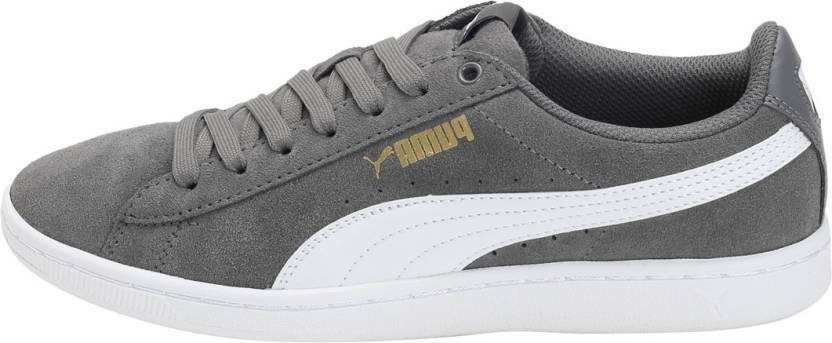 NEW Puma Vikky Grey Classic Sneaker Shoes SIZE