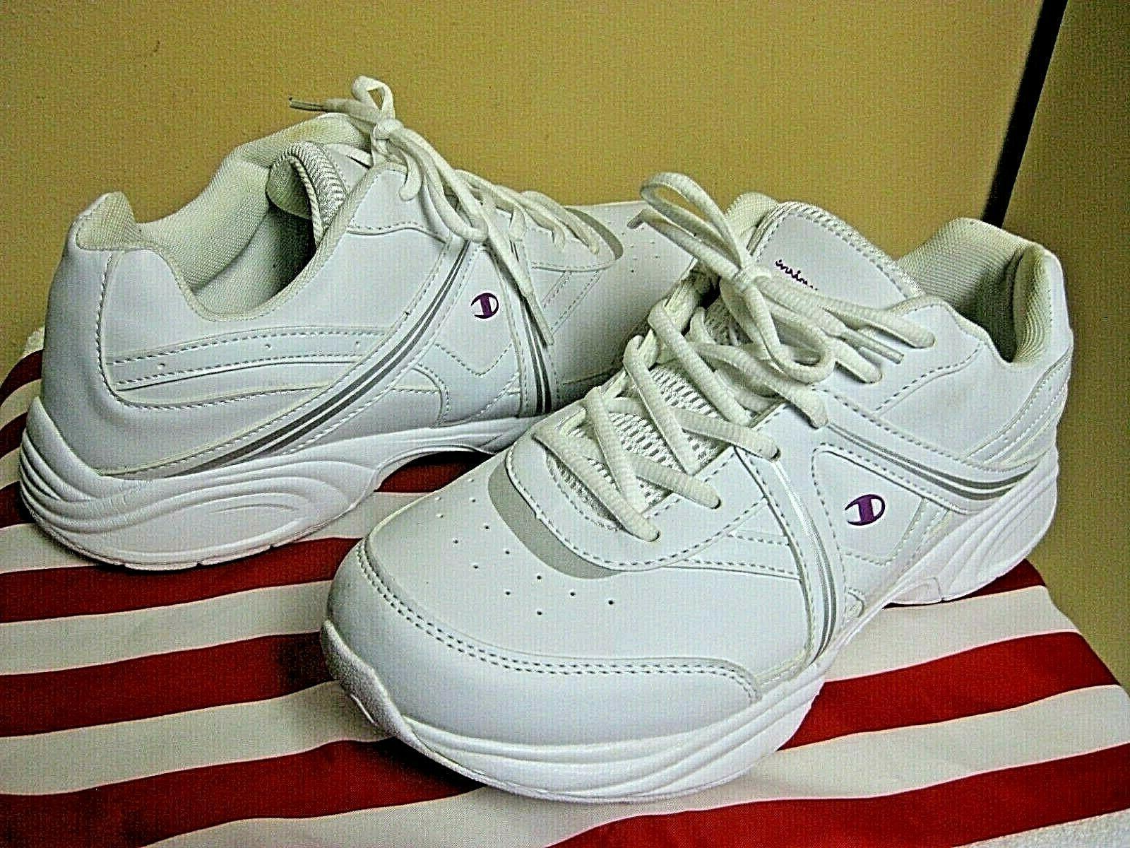 CHAMPION White Sneakers Walking Tennis Size 11