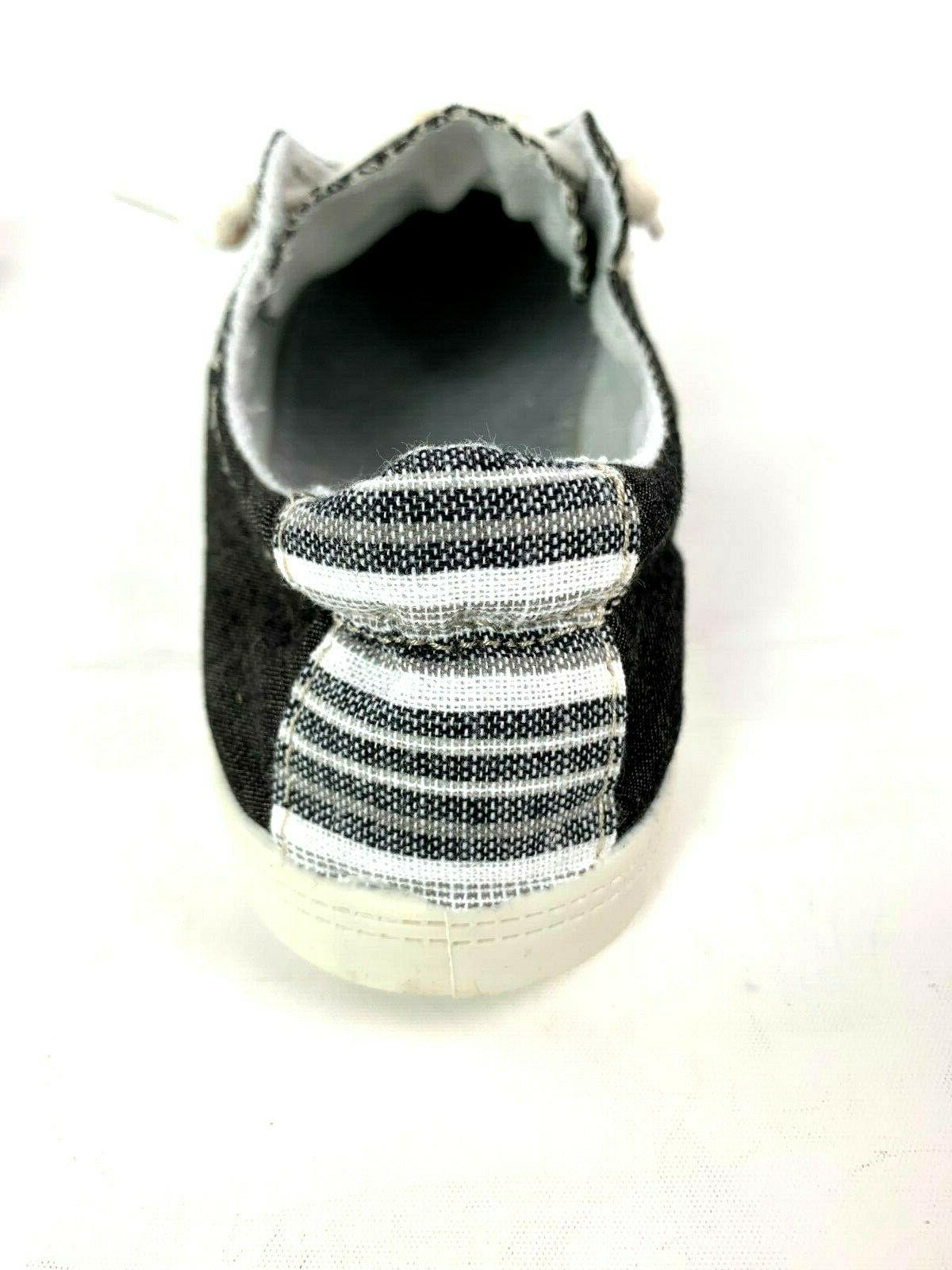 New Womens Lace Canvas Slip-On Sneakers tennis 5-10