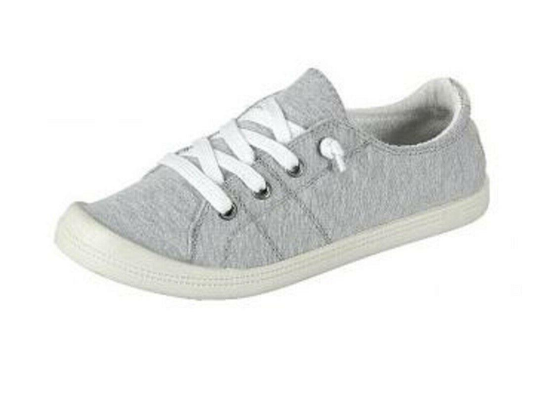 New Lace Canvas Casual Slip-On tennis Size 5-10