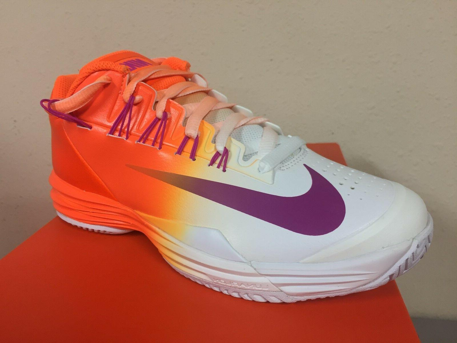 Nike Men's Lunar Ballistec 1.5 Tennis Shoes Style 705285 800