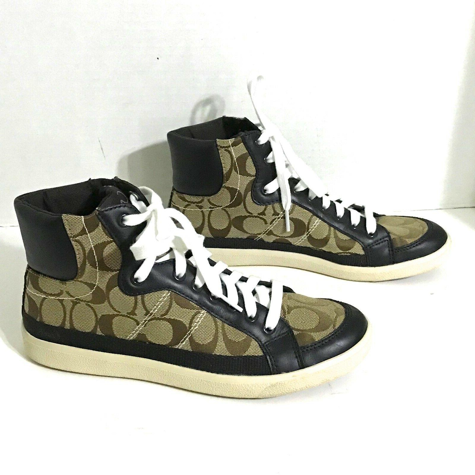 NWOB Coach Ellis Tops Shoes Brown/Tan / BRAND