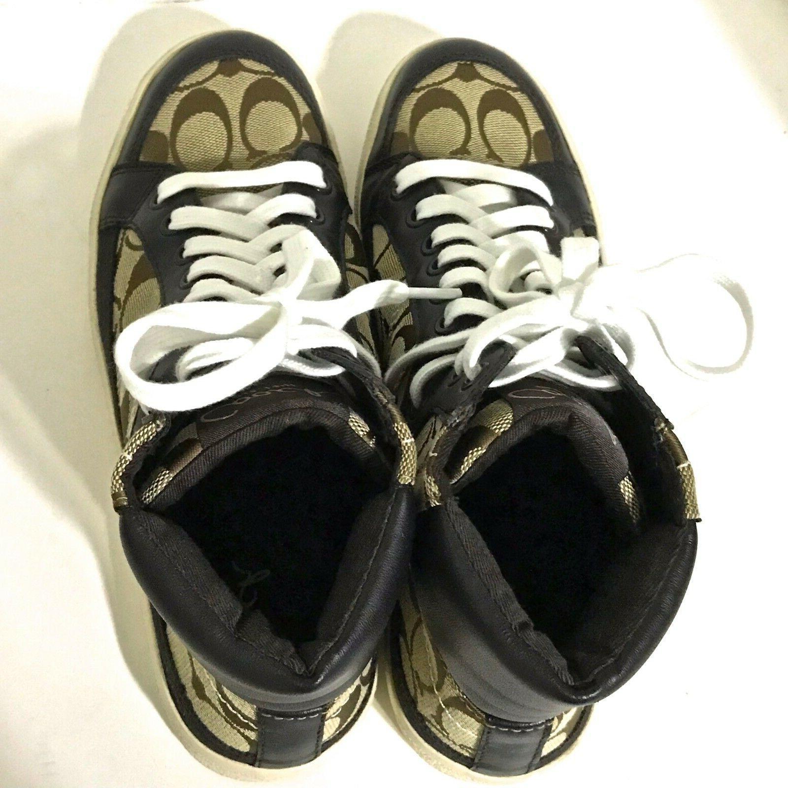 NWOB Ellis Tops Shoes Size 8.5 Brown/Tan ~ NEVER /