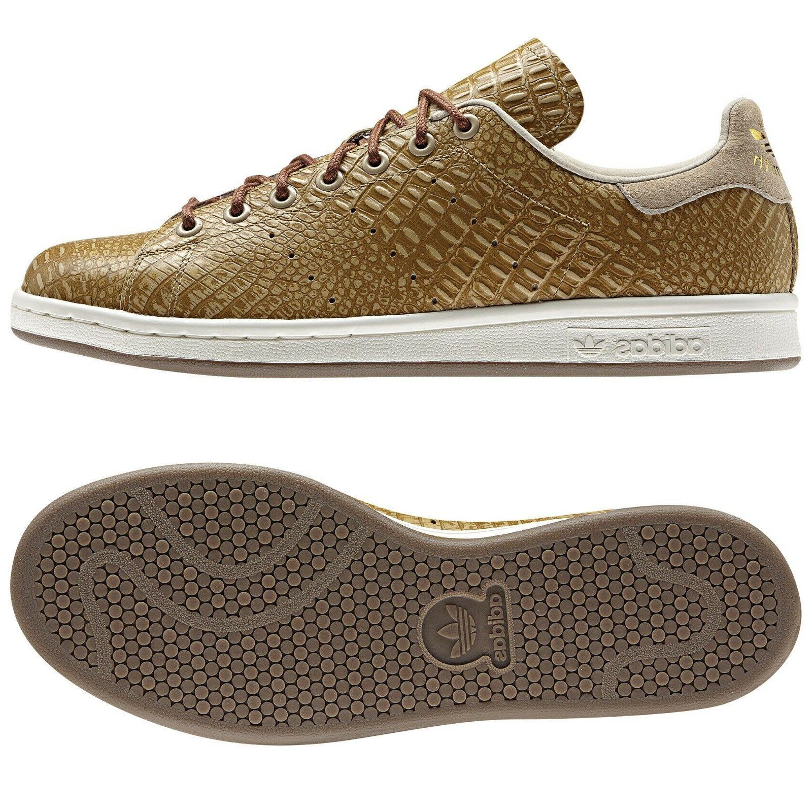 Adidas Originals Stan Smith D67657 St Pale Nude/Gold Crocodi