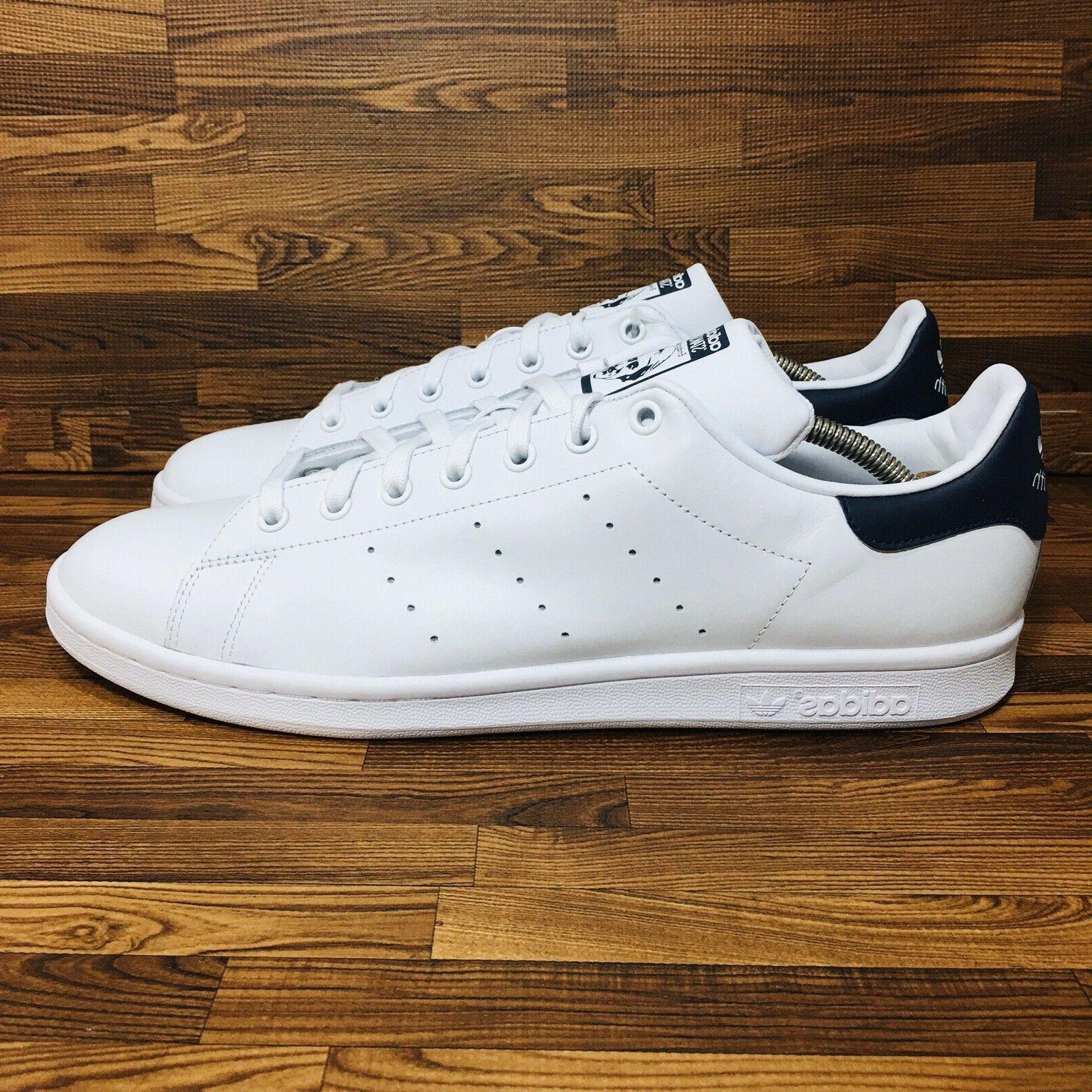 Adidas Originals Men's Athletic Sneaker White Blue